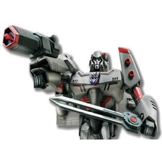 Transformers Non Scale Pre-Painted Action Figure: TA26 Megatron - Light & Sound