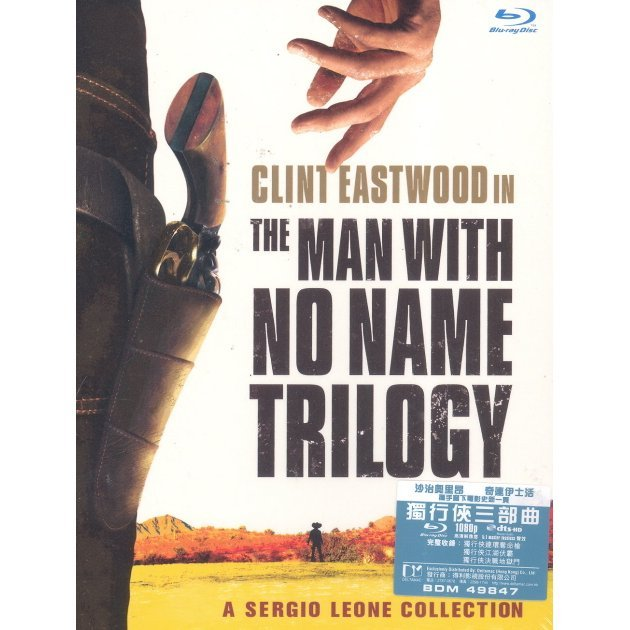 The Man With No Name Trilogy [3-Disc Blu-ray Boxset]