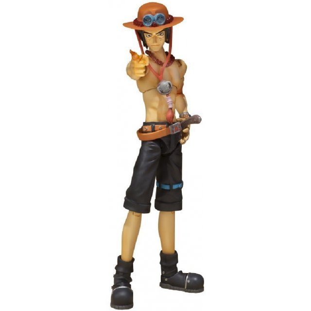 One Piece S.H. Pre-Painted PVC Figure: Portgas D Ace