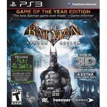 Batman: Arkham Asylum [Game of the Year Edition 3D]