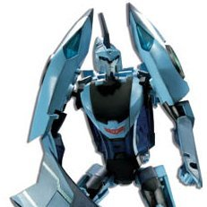 Transformers Non Scale Pre-Painted Action Figure: TA30 Autobot Blurr
