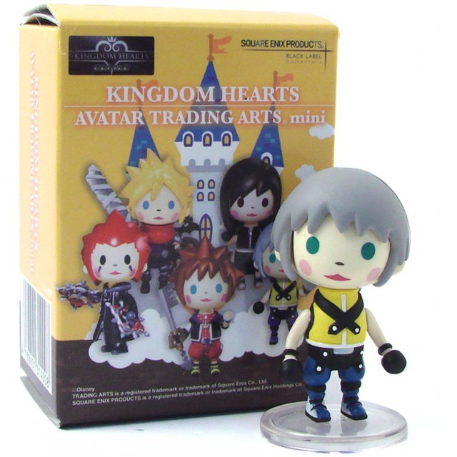 Kingdom Hearts Avatar Trading Arts Mini Vol.1 Pre-Painted PVC Trading Figure