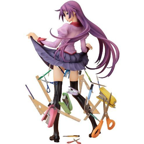 Bakemonogatari 1/8 Scale Pre-Painted PVC Figure: Senjyogahara Hitagi (Good Smile Version)
