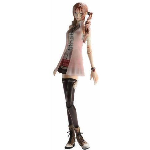 Final Fantasy XIII Play Arts Kai Pre-Painted Figure: Serah Farron