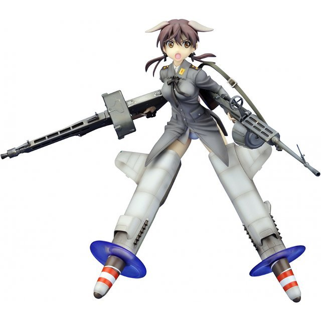 Strike Witches 1/8 Pre-Painted PVC Figure: Gertrud Barkhorn