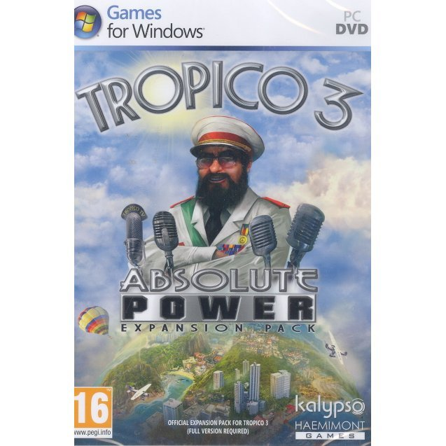 Tropico 3: Absolute Power Expansion Pack (DVD-ROM)