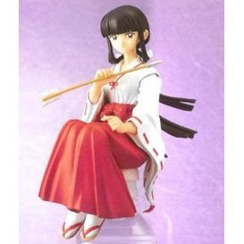 Bottle on Figure - Bome Inuyasha Pre-Painted PVC Figure: Kikyo