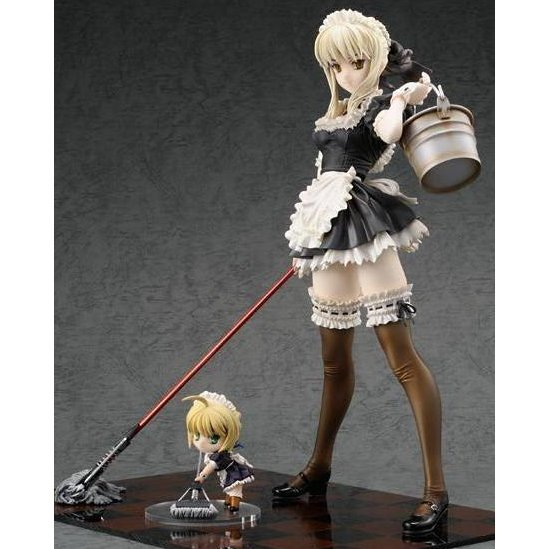 Fate/Hollow Ataraxia 1/6 Scale Pre-painted PVC Figure: Saber Alter Maid Version