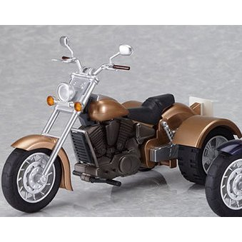 Ex:Ride Ride.008 Non Scale Pre-Painted PVC figure: Three Wheeler (Gold)