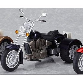 Ex:Ride Ride.008 Non Scale Pre-Painted PVC figure: Three Wheeler (Black)