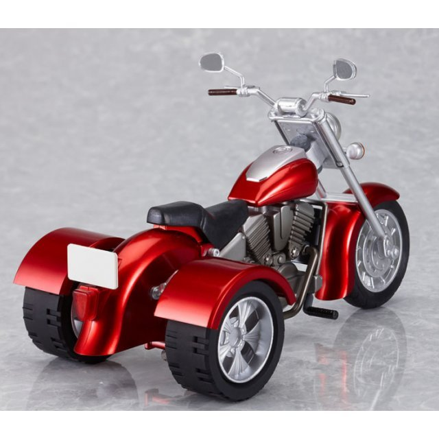 Ex:Ride Ride.008 Non Scale Pre-Painted PVC figure: Three Wheeler (Red)
