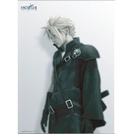 Final Fantasy VII Advent Children Wall Scroll Poster - Cloud (Re-run)