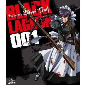 OVA Black Lagoon Roberta's Blood Trail Blu-ray 001