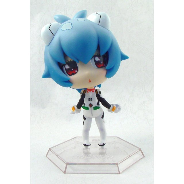 Neon Genesis Evangelion Deformania Collection DX Pre-Painted Mini Figure: Ayanami Rei