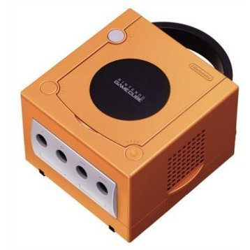 GameCube Console - Spice Orange