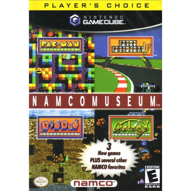 Namco Museum (Player's Choice)