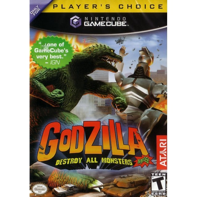 Godzilla: Destroy All Monsters Melee (Player's Choice)