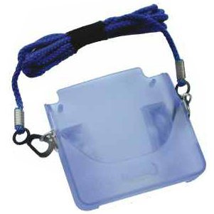 Shock Preventer Pouch - clear blue
