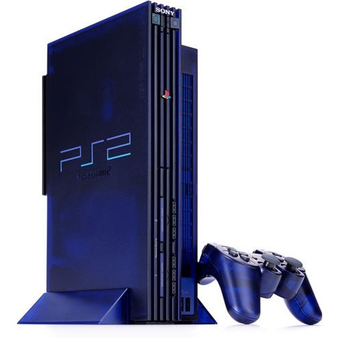 PlayStation2 Console Midnight Blue BB Pack [SCPH-50000MBNH]