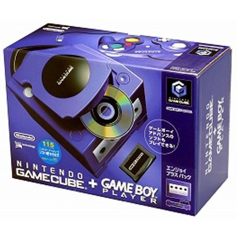Game Cube + Game Boy Player Enjoyment Plus Pack - Purple/Indigo