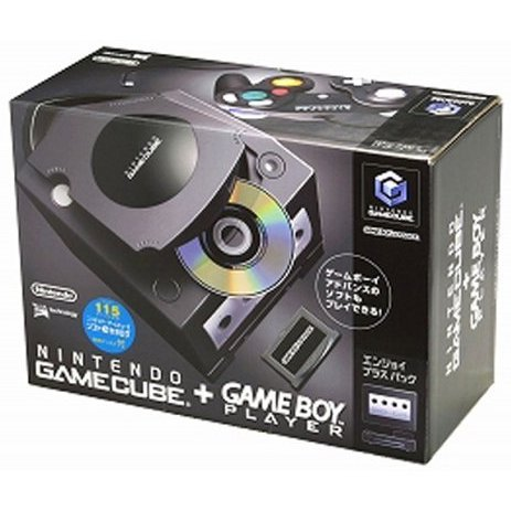 Game Cube + Game Boy Player Enjoyment Plus Pack - Jet Black