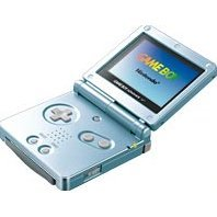 Game Boy Advance SP - Pearl Blue (110V)