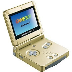 Game Boy Advance SP - Starlight Gold (110V)