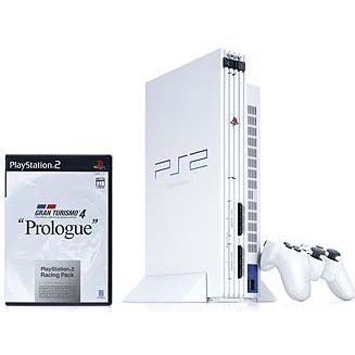 PlayStation2 Racing Pack Ceramic White