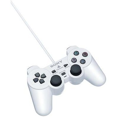 Dual Shock 2 Controller (Ceramic White)