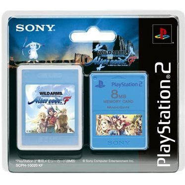 Memory Card 8MB Premium Series - Wild Arms: Alter Code F