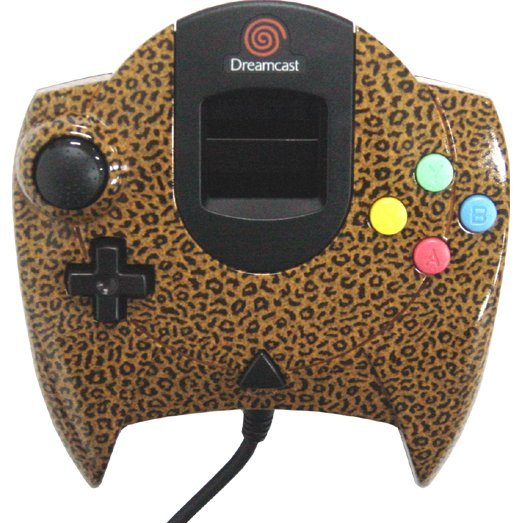 Dreamcast Controller (D-Direct Panther Design)