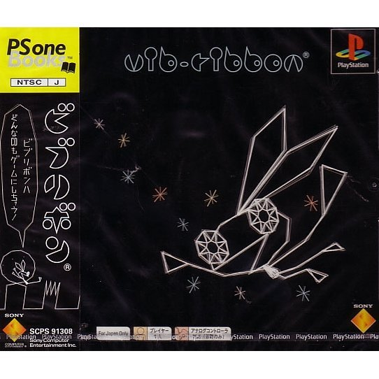 Vib-Ribbon (PSone Books)