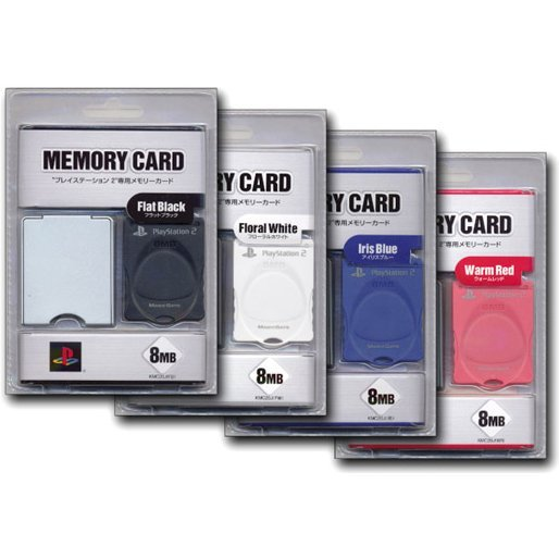 Kemco 8MB Memory Card - Iris Blue