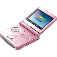 Game Boy Advance SP - Pearl Pink (220V)