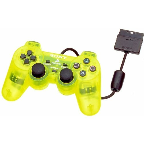 Dual Shock 2 Controller (Lemon Yellow)