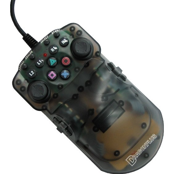 RPG DuoCon2 - One Hand Controller [clear black]