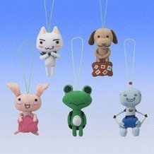 Doko Demo Issho Mascots Gashapon (full set)
