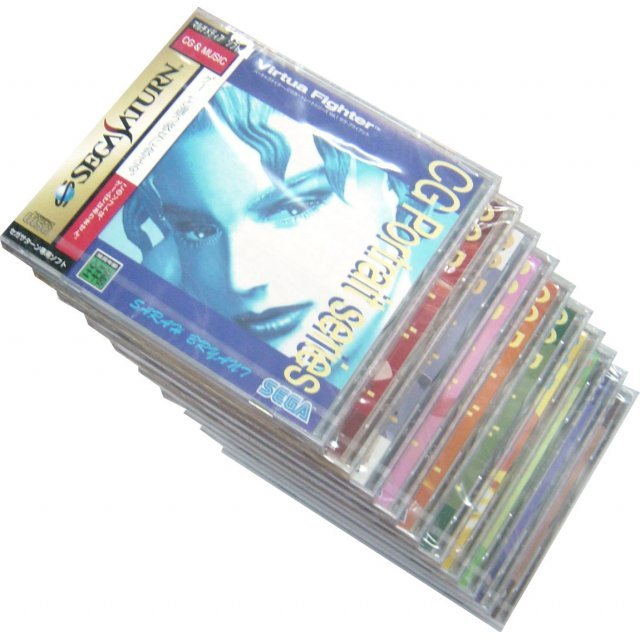 Virtua Fighter CG Collection Series Vol. 1-10