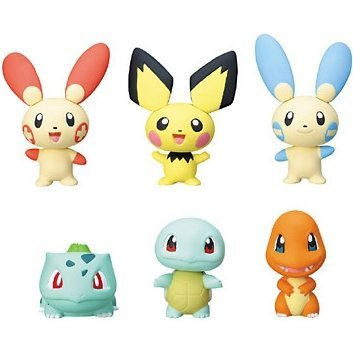 Pocket Monsters Bubble Head Mascots 2 Gashapon (full set)