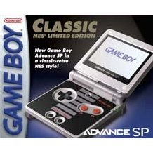 Game Boy Advance SP - Classic NES Limited Edition (110V)