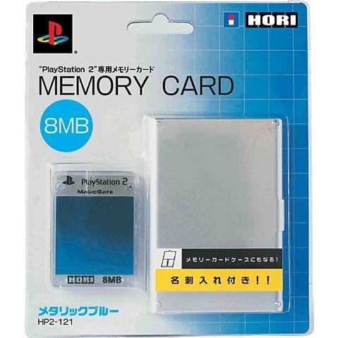 Hori Memory Card 8MB - metalic blue