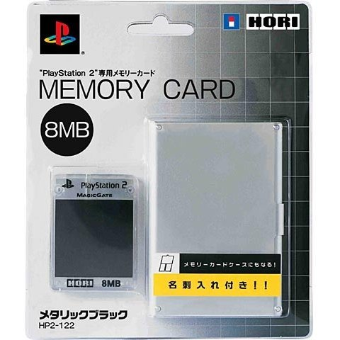 Hori Memory Card 8MB - metalic black