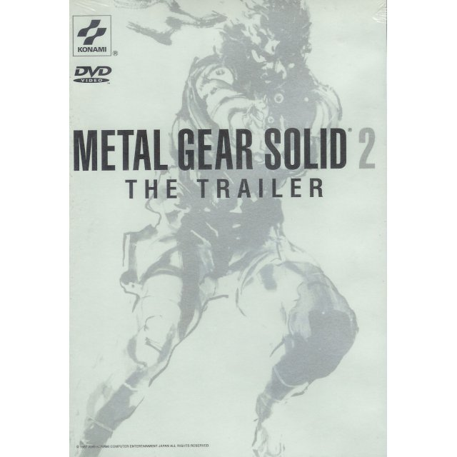Metal Gear Solid 2: The Trailer DVD