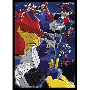 Transformers Masterforce DVD Box 2 [Limited Edition]