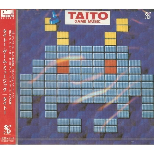 Game Sound Legent Series - Taito Game Music