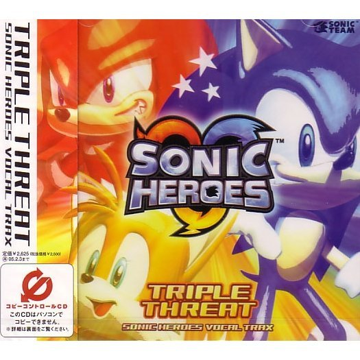 Triple Threat - Sonic Heroes Vocal Trax