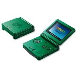 Game Boy Advance SP - Rayquaza Green (110V)