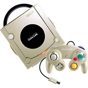 Game Cube Console - Starlight Gold