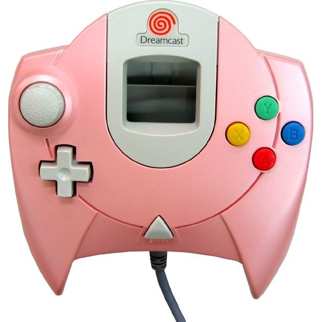 Dreamcast Controller (D-Direct Pink Design)