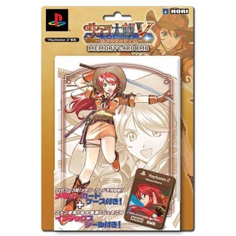 Sakura Taisen V Episode 0: Samurai Girl of Wild Memory Card 8MB